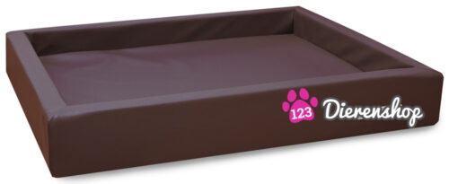 Hondenmand Lounge Bed Bruin 80 cm-0