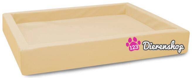 Hondenmand Lounge Bed Crème 80 cm-0