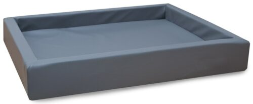 Hondenmand Lounge Bed Grijs-0
