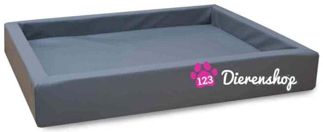 Hondenmand Lounge Bed Grijs 80 cm-0