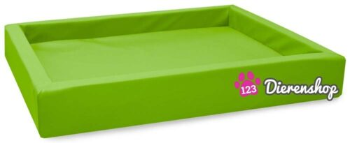 Hondenmand Lounge Bed Lime 80 cm-0