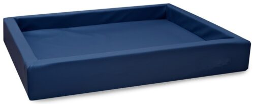 Hondenmand Lounge Bed Marineblauw-0