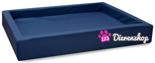 Hondenmand Lounge Bed Marineblauw 100 cm-0