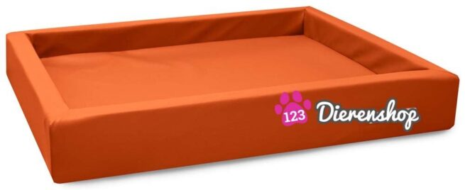 Hondenmand Lounge Bed Oranje 80 cm-0