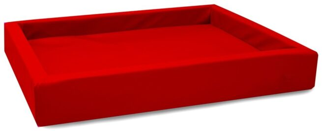 Hondenmand Lounge Bed Rood-0