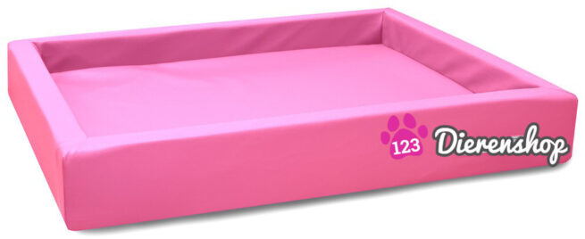 Hondenmand Lounge Bed Roze 100 cm-0