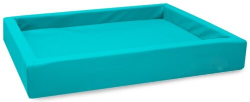 Hondenmand Lounge Bed Turquoise-0