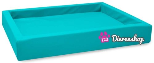Hondenmand Lounge Bed Turquoise 100 cm-0