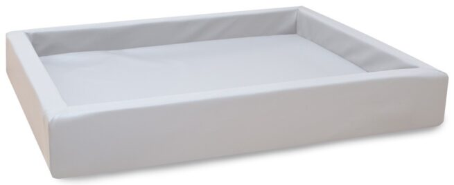 Hondenmand Lounge Bed Wit-0