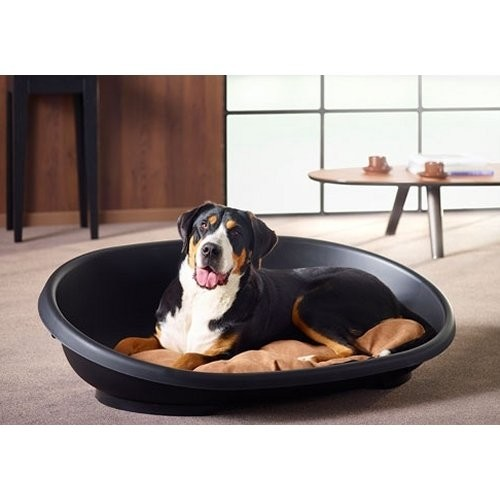 Hondenmand Snooze Zwart 117 cm-14532