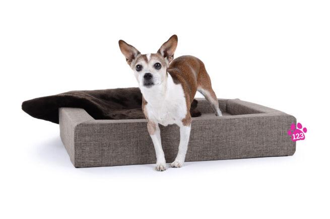 Hondenmand Dream Rectangle Crème 80 cm-0