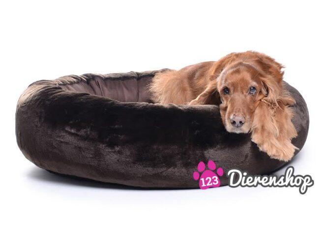 Hondenmand Eskimo Dream Fur Bruin 75 cm-0