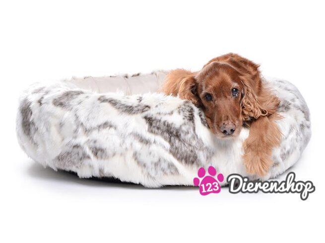 Hondenmand Eskimo Dream Fur Bruin / Crème 90 cm-0