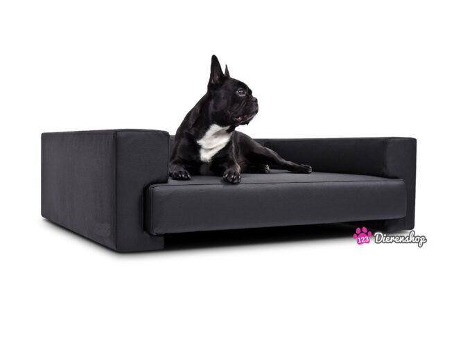Hondenbank Deluxe Zwart 105 cm-0