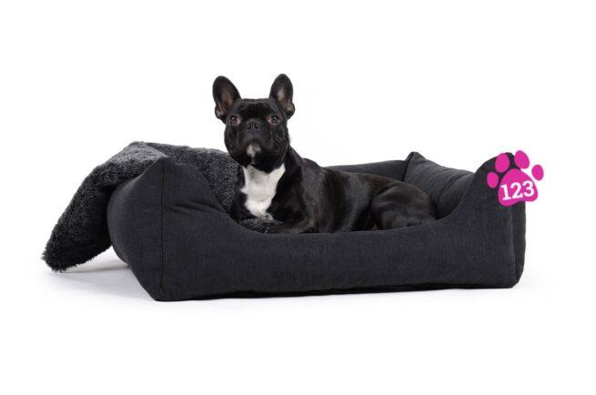 Hondenmand Comfort Dream Zwart 90 cm-0