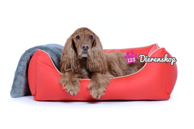 Hondenmand Ultimate Dream Rood 90 cm-0