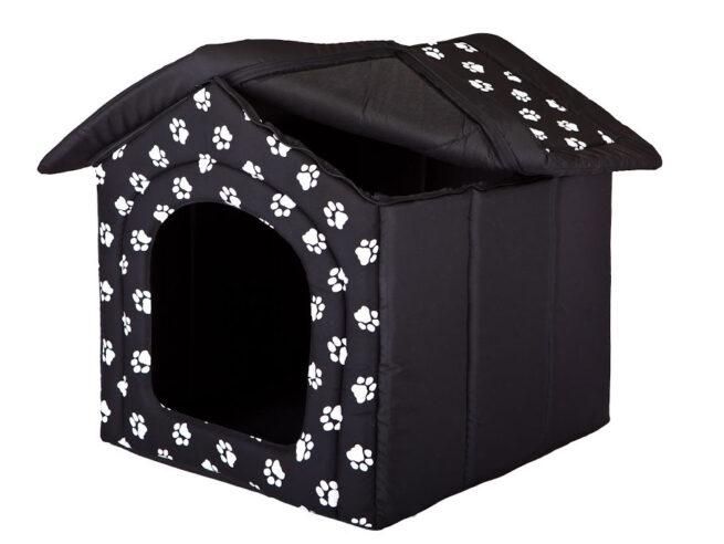 Hondenhuisje My Paw Zwart-15153