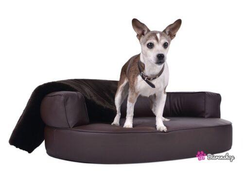 Hondenmand Magic Dream Bruin PU-Leder-0