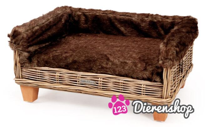 Hondenmand Rotan Fur Deluxe-15406