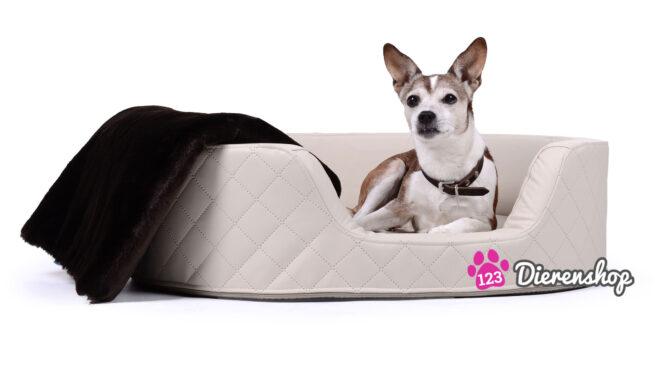 Hondenmand Solatium Deluxe Crème 80-0