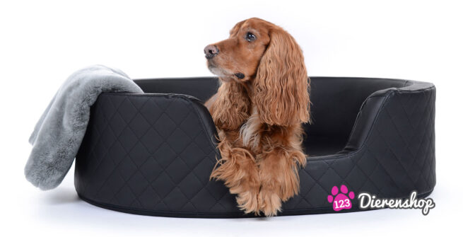 Hondenmand Solatium Deluxe Zwart 80 cm-0