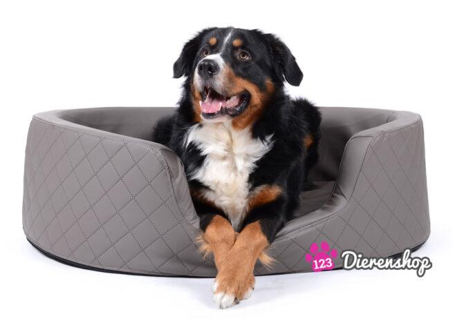 Orthopedische hondenmand Solatium Deluxe Taupe 80 cm-0