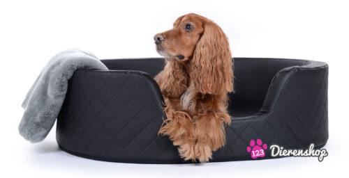 Orthopedische hondenmand Solatium Deluxe Zwart 80 cm-0