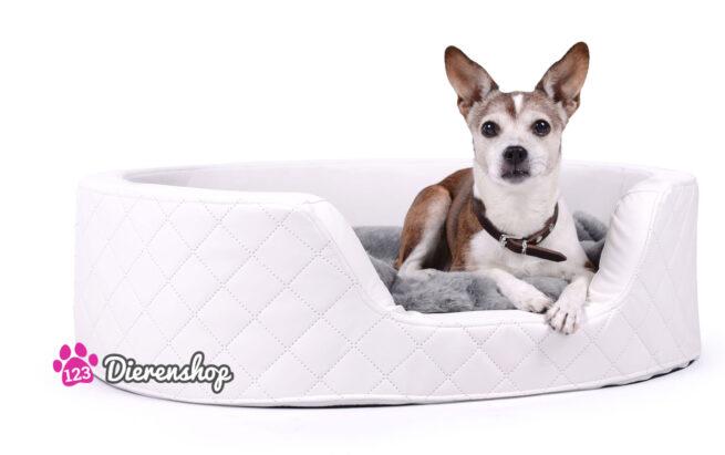 Hondenmand Solatium Deluxe Wit 100 cm-0