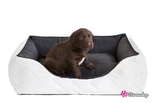 Hondenmand Indira Perfect Wit Zwart 85 cm-0