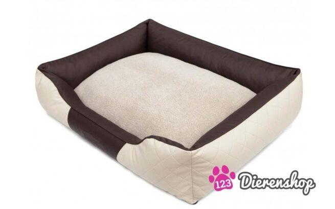 Hondenmand Indira Prestige Crème Bruin 85 cm-20018