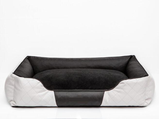 Hondenmand Indira Prestige Wit Zwart 115 cm-0