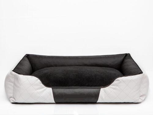 Hondenmand Indira Prestige Wit Zwart 125 cm-0