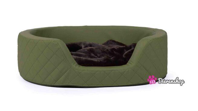 Hondenmand Solatium Deluxe Mosgroen 80 cm-0