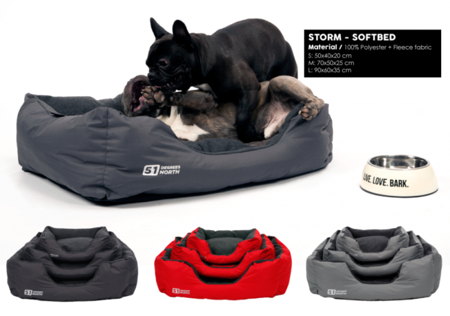 Hondenmand 51DN Storm Softbed Rocky Grey-16435