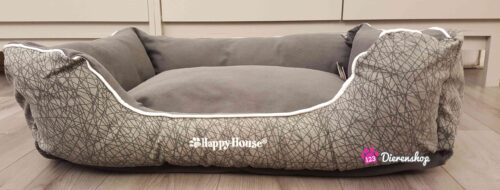 Hondenmand Happy House Casual Living Grijs-0