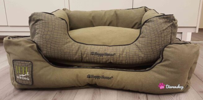 Hondenmand Happy House Casual Living Groen 75 cm-0
