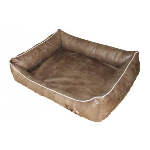 Hondenmand Napzzz Leatherlook Divan Bruin-16517