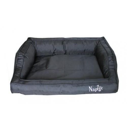 Hondenmand Napzzz Loungebed Oxford Zwart 120 cm-0