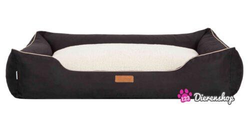 Hondenmand Indira Suedine Deluxe Zwart 110 cm-0