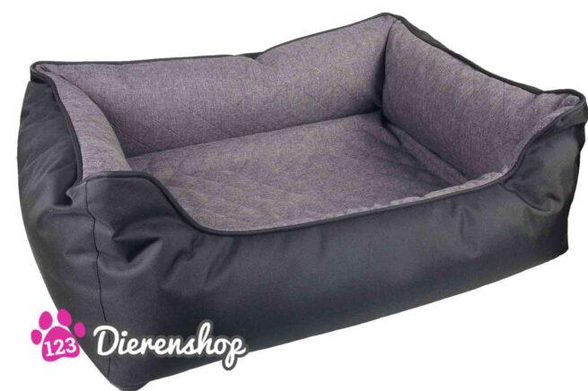 Hondenmand Dreambay Mano Zwart Grijs 80 cm-0