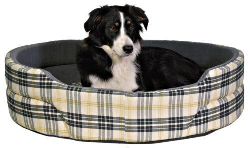 Hondenmand Trixie Lucky Beige Grijs-0