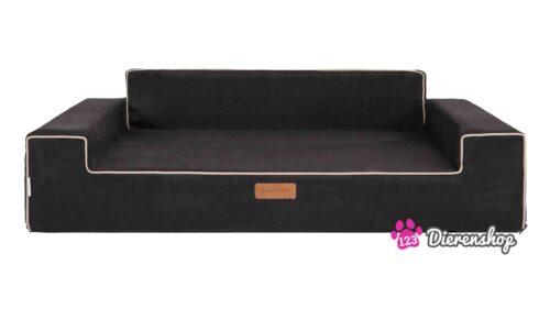 Hondensofa Suedine Elegance Zwart 102 cm-0