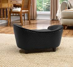 Hondensofa Ultra Pluche Black Basket-16708