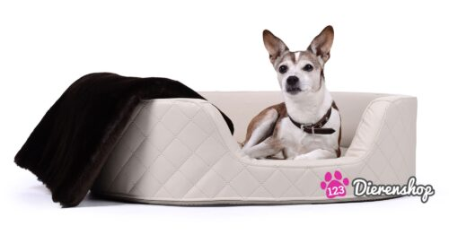 Orthopedische hondenmand Solatium Deluxe Crème 80 cm-0