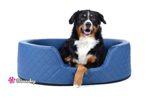 Orthopedische hondenmand Solatium Deluxe Blauw 80 cm-0