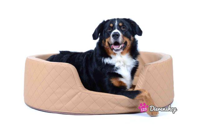Orthopedische hondenmand Solatium Deluxe Lichtbruin 100 cm-0