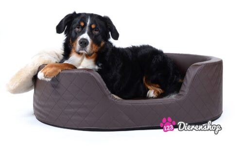 Orthopedische hondenmand Solatium Deluxe Bruin 80 cm-0