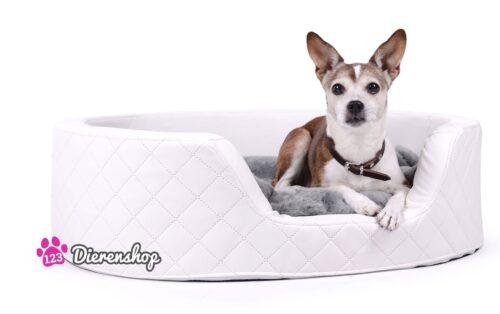 Orthopedische hondenmand Solatium Deluxe Wit 80 cm-0