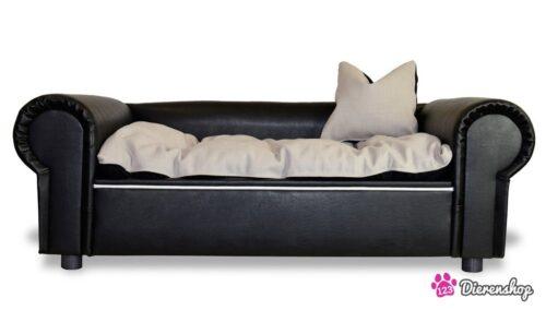 Hondenbank Colombo Zwart XL-0
