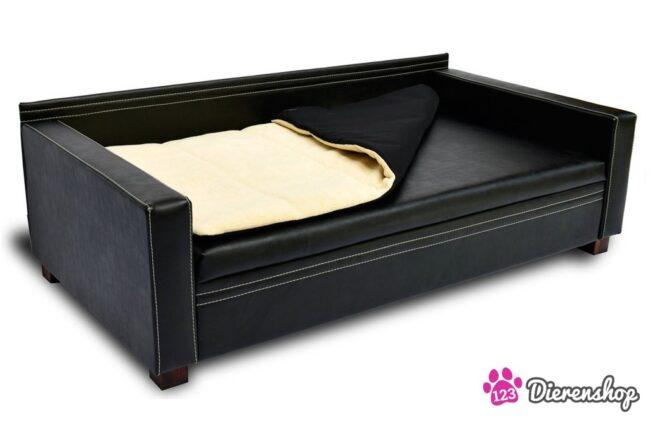 Hondenbank Design Zwart XXL-0